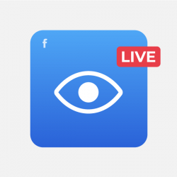 Visualizações Live Facebook