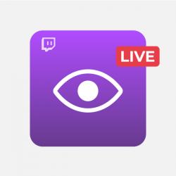 Vues en Direct Live Twitch